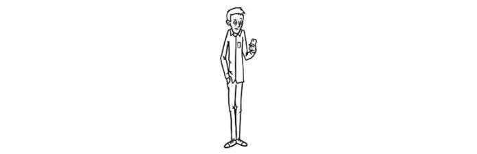 lengte van de mens