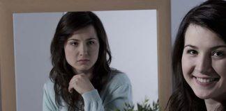 Vrouw met bipolaire persoonlijkheidsstoornis