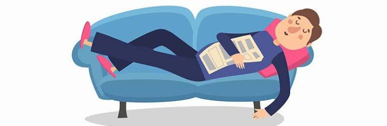Een slaaptekort inhalen met een powernap